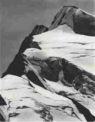 ANSEL ADAMS - Mount Resplendent, Jasper National Park.