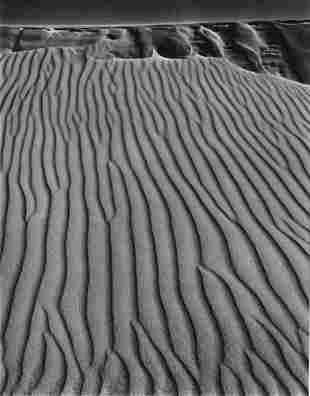 ANSEL ADAMS - Sand Dunes, Oceano, California - Original
