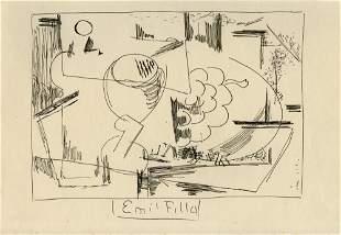 EMIL FILLA - Zatisi abstraktni kompozice [Still-life