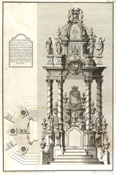 2: JOSEPH GALLI BIBIENA [AFTER] (Italian) Engraving