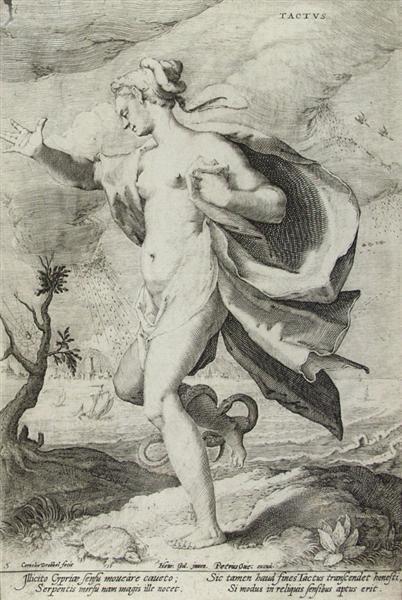 17: CORNELIUS DREBBEL (Dutch) Engraving