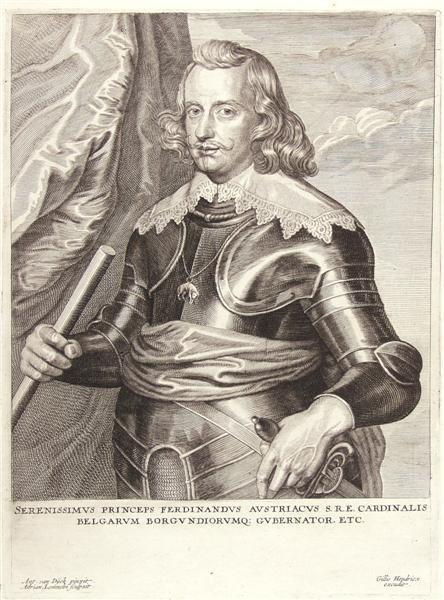 20: ANTHONY VAN DYCK [AFTER] (Flemish) Engraving