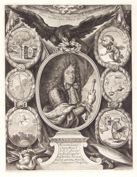 21: GABRIEL EHINGER (German) Engraving