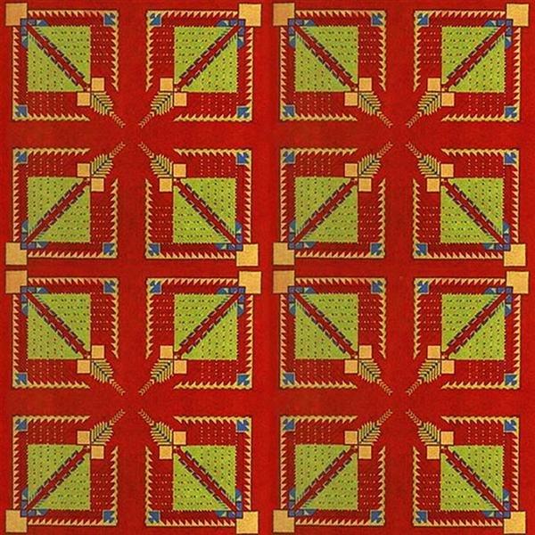 534: FRANK LLOYD WRIGHT (American) Textile