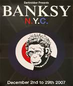 BANKSY - Monkey Queen - Color offset lithograph