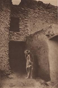 EDWARD S. CURTIS - Golden Stars at the Pueblo -