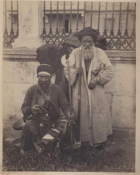 2: ABDULLAH FRERES (Armenian) Vintage albumen print