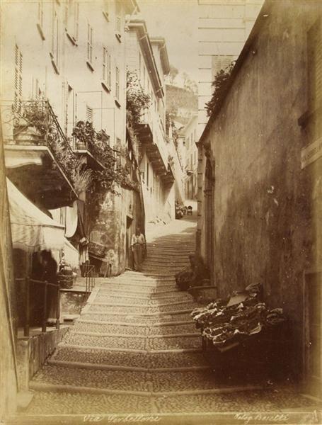 8: BOSETTI (Italian) Vintage albumen print