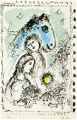 390: MARC CHAGALL (Russian/French) Original color litho