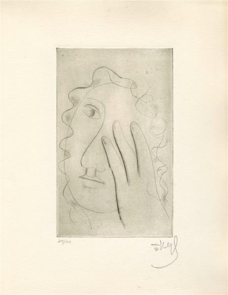 546: FERNAND LEGER (French) Drypoint