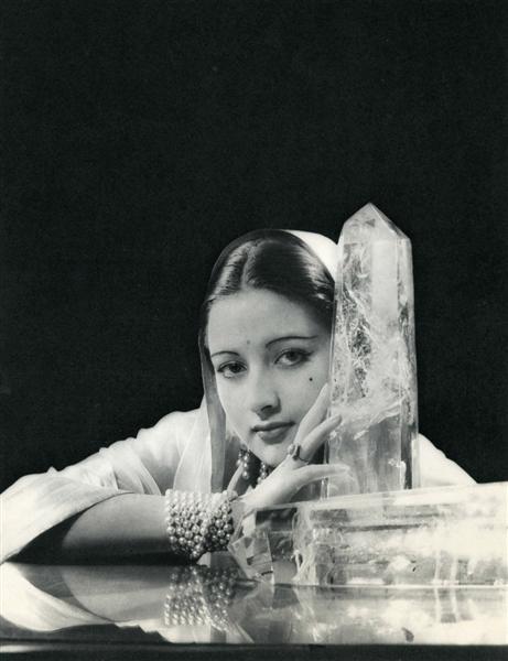 334: ANDRE DURST (French) Original vintage photogravure