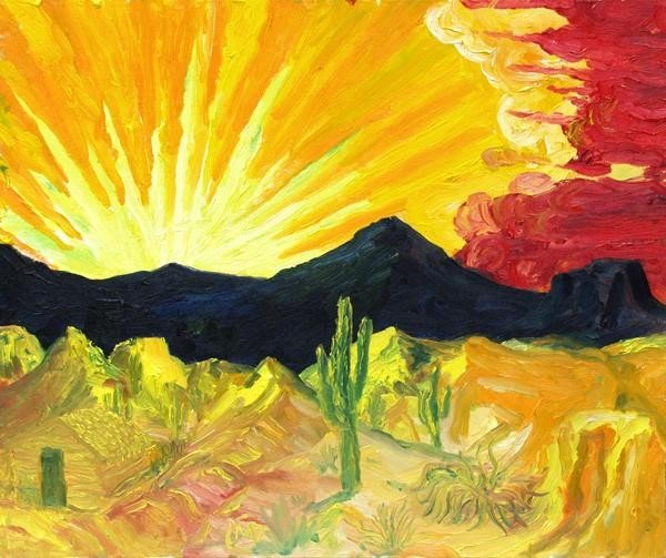 556: MARTIN DEANE COPPINGER - Oil on canvas board