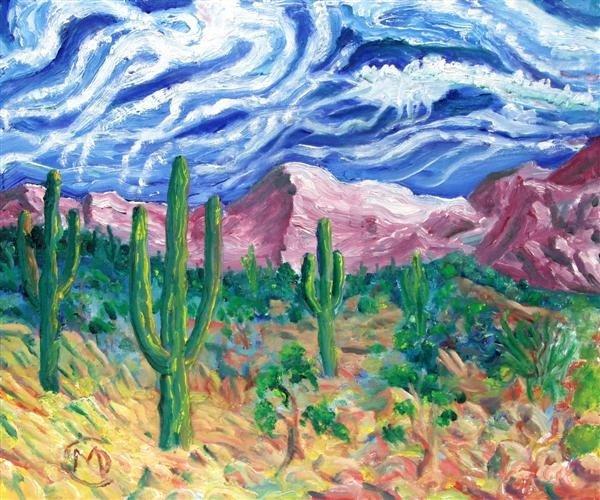 560: MARTIN DEANE COPPINGER - Oil on canvas board