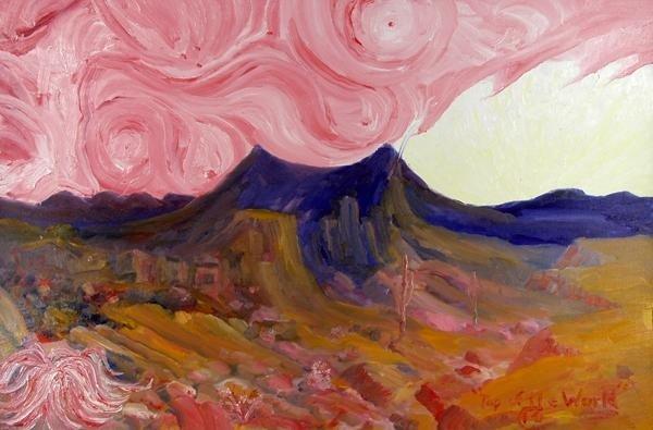 562: MARTIN DEANE COPPINGER - Oil on canvas board