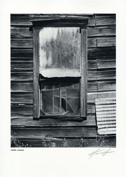 7: ANSEL ADAMS - Vintage photogravure