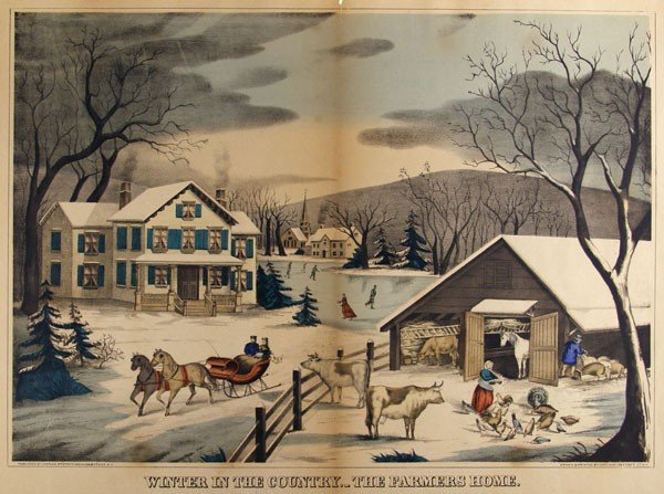 5: CHARLES HART - Hand-colored  lithograph