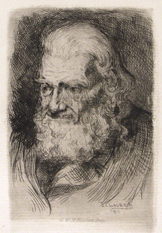 8: JOSEPH LAUBER - Etching