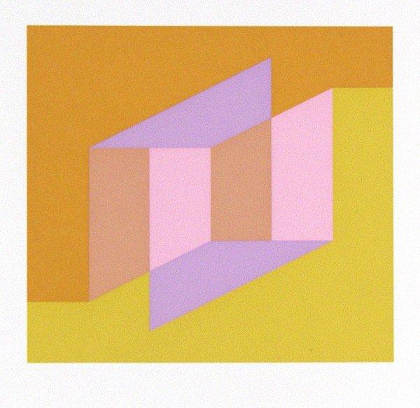 14: JOSEF ALBERS - Original color silkscreen
