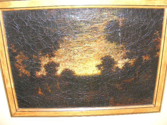 719: R. A. BLAKELOCK - Oil on canvas