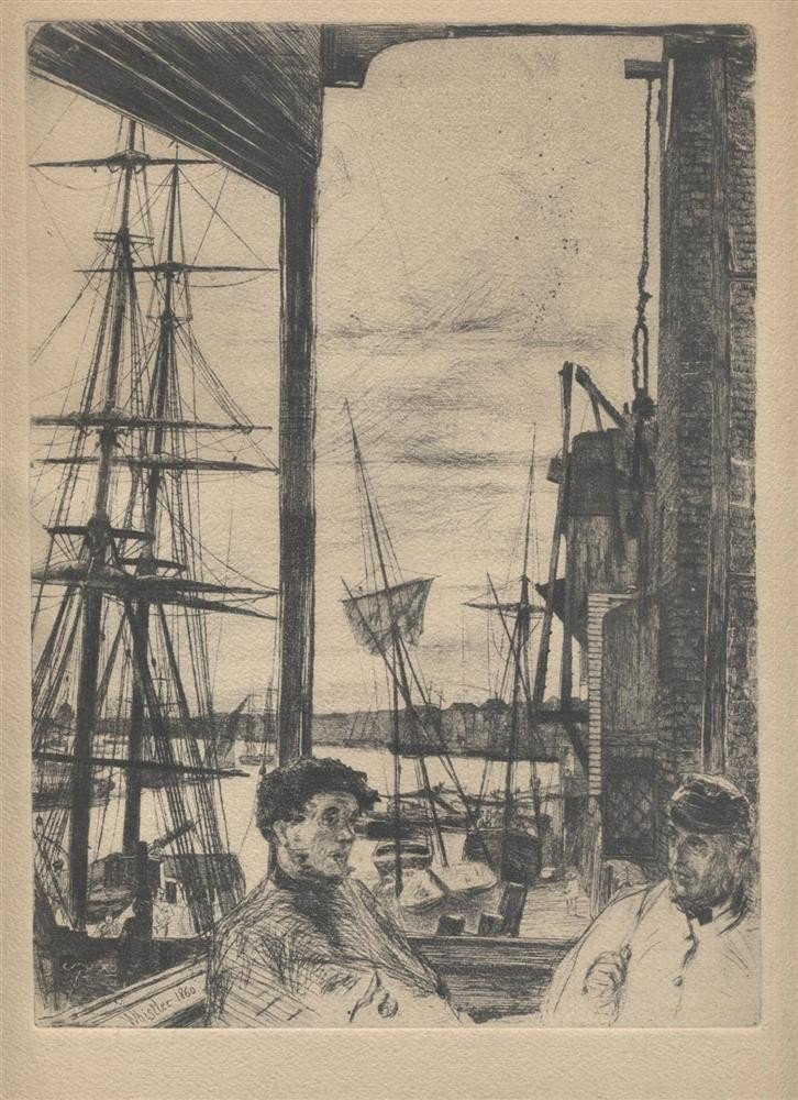 7: JAMES A. MCNEILL WHISTLER - Etching & Drypoint