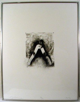 JIM DINE - Original Lithograph