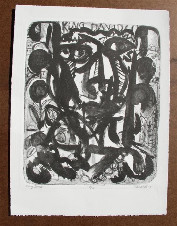 58: DAVID C. DRISKELL - Woodcut