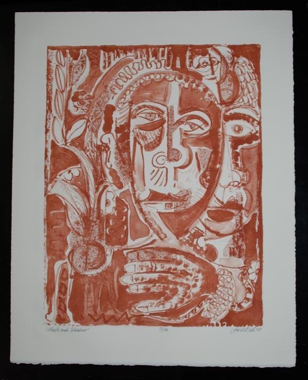 59: DAVID C. DRISKELL - Color lithograph