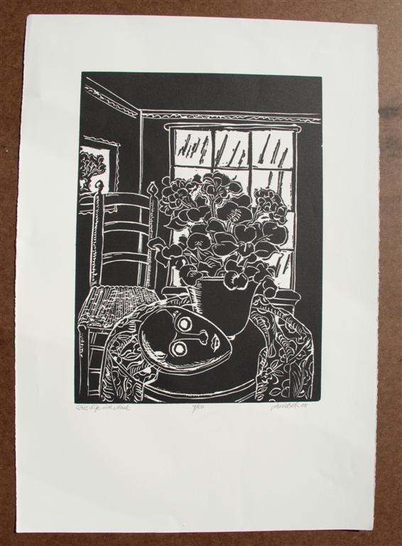 63: DAVID C. DRISKELL - Woodcut