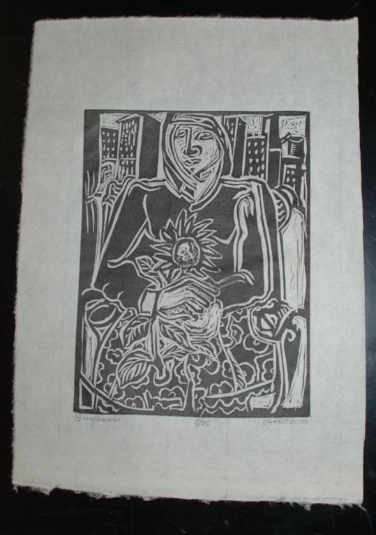 64: DAVID C. DRISKELL - Woodcut