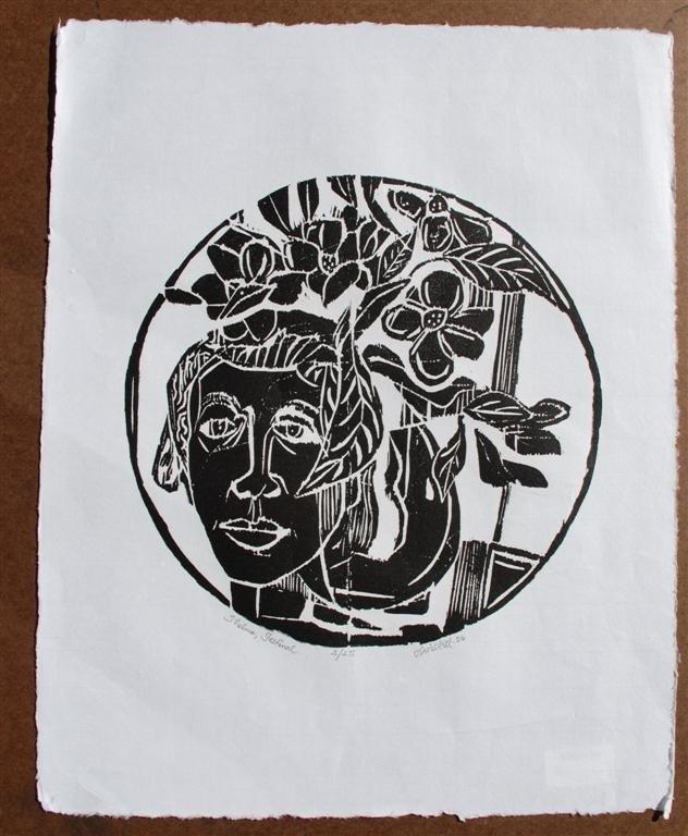 66: DAVID C. DRISKELL - Woodcut