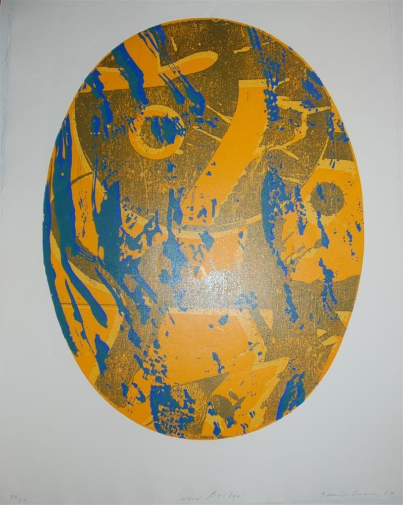 70: SAM GILLIAM - Color etching, serigraph, and relief