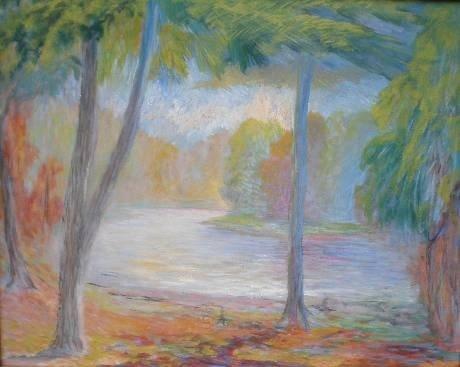 72: WILLIAM GLACKENS - Oil on canvas