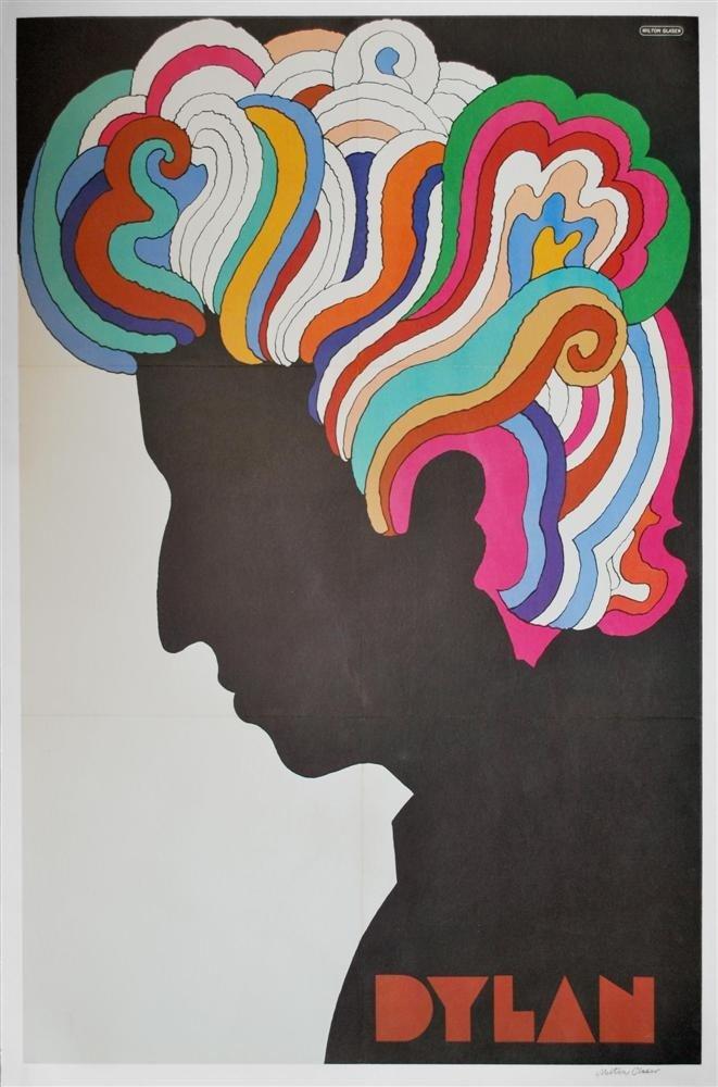 73: MILTON GLASER - Original color offset lithograph po