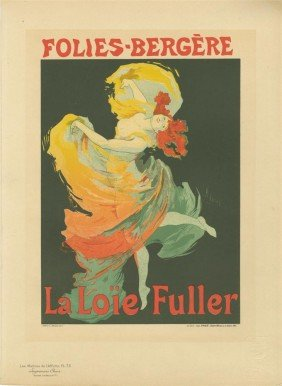 JULES CHERET - Color Lithograph Poster