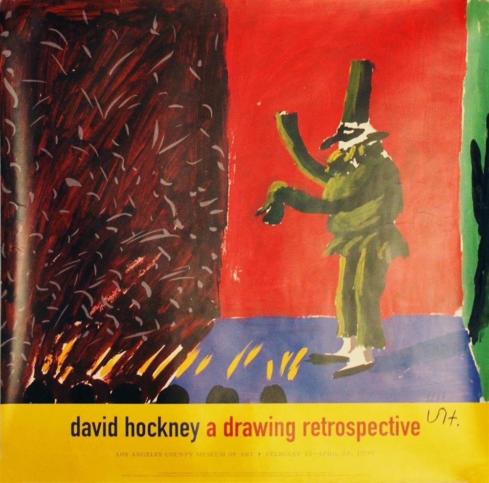 235: DAVID HOCKNEY - Color offset lithograph poster