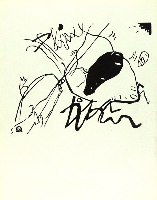 241: WASSILY KANDINSKY - Original woodcut