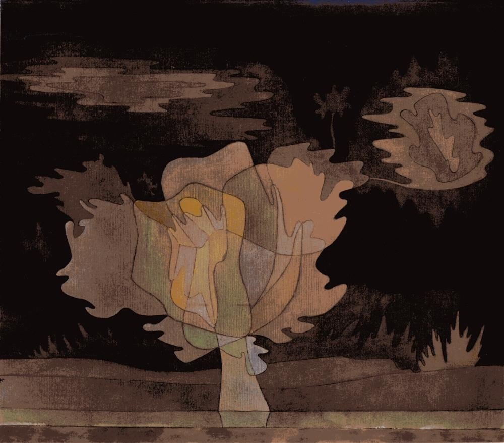 245: PAUL KLEE [AFTER] - Original color collotype