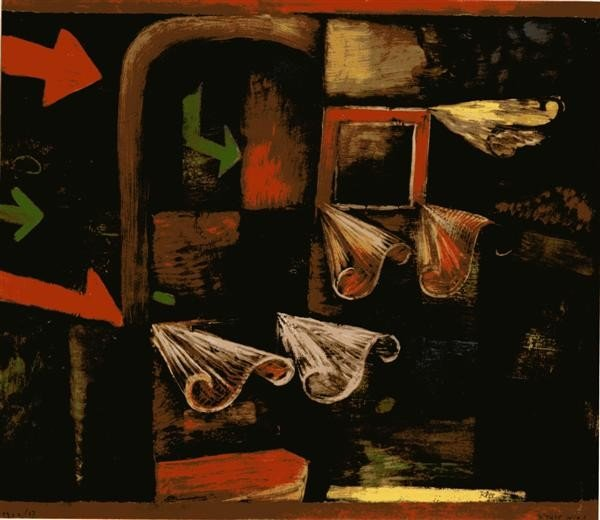 249: PAUL KLEE [AFTER] - Original color collotype