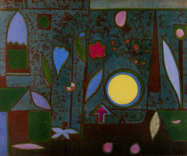 251: PAUL KLEE [AFTER] - Original color collotype
