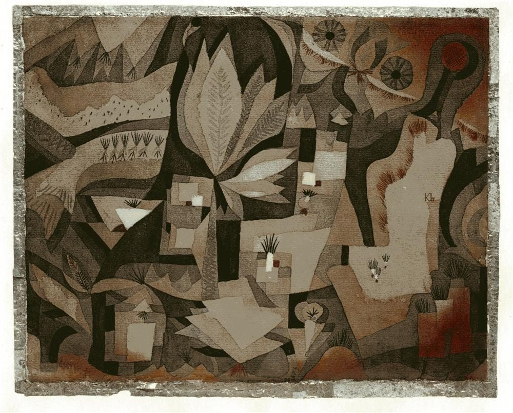 252: PAUL KLEE [AFTER] - Original color collotype