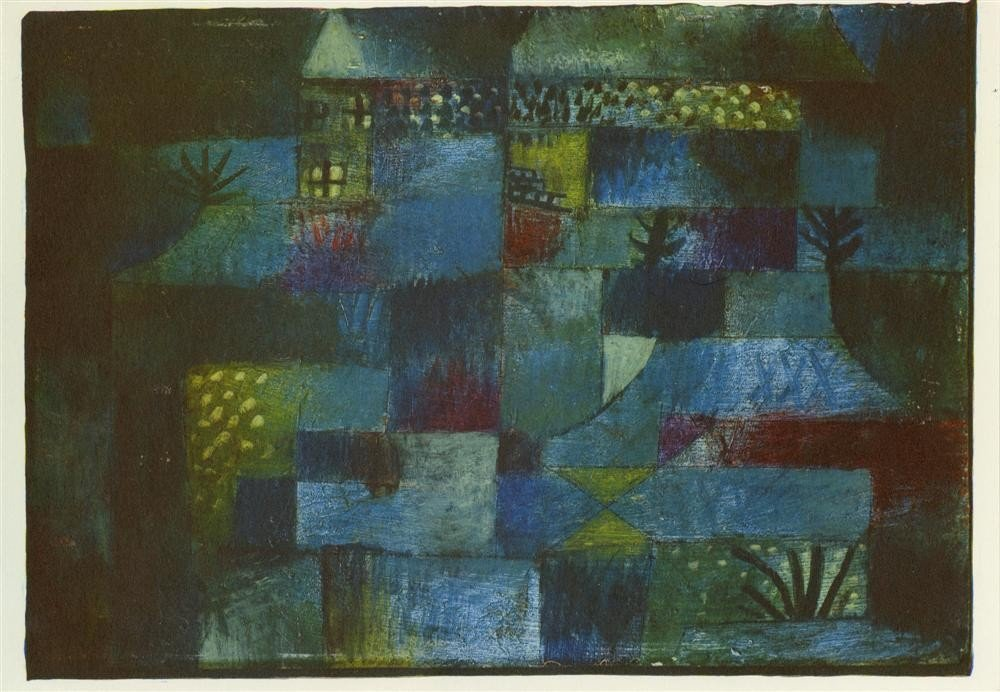 264: PAUL KLEE [AFTER] - Original color collotype