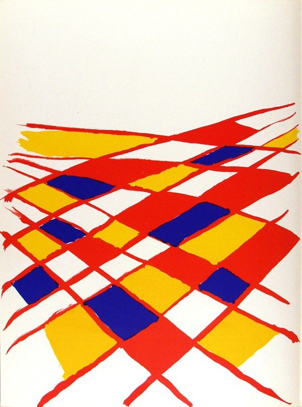 627: ALEXANDER CALDER - Color lithograph