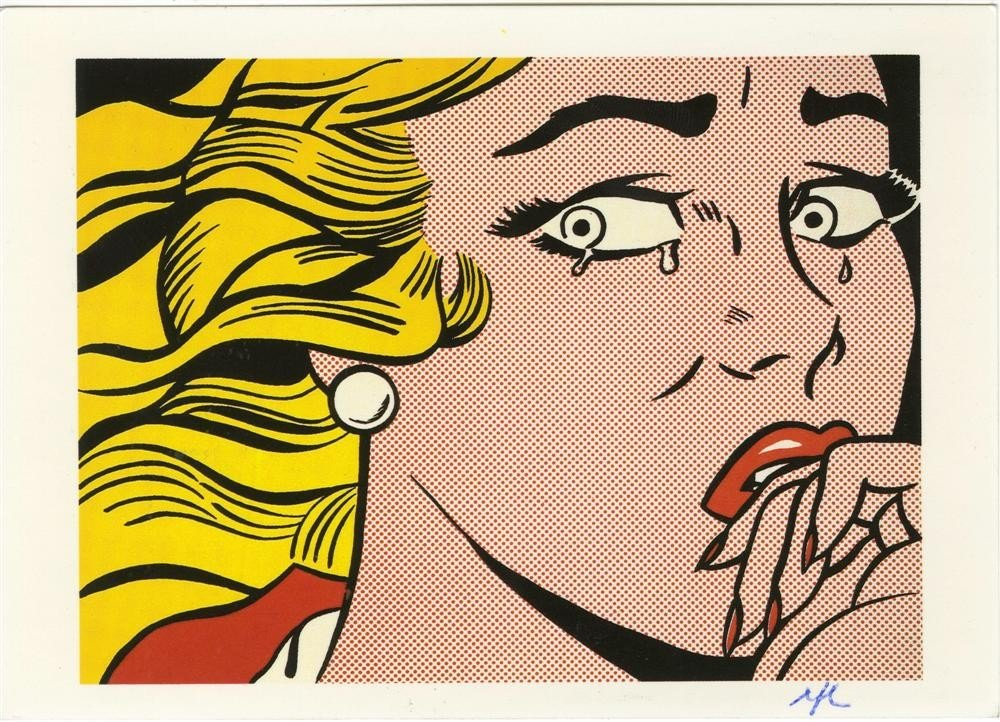 663: ROY LICHTENSTEIN - Color offset lithograph