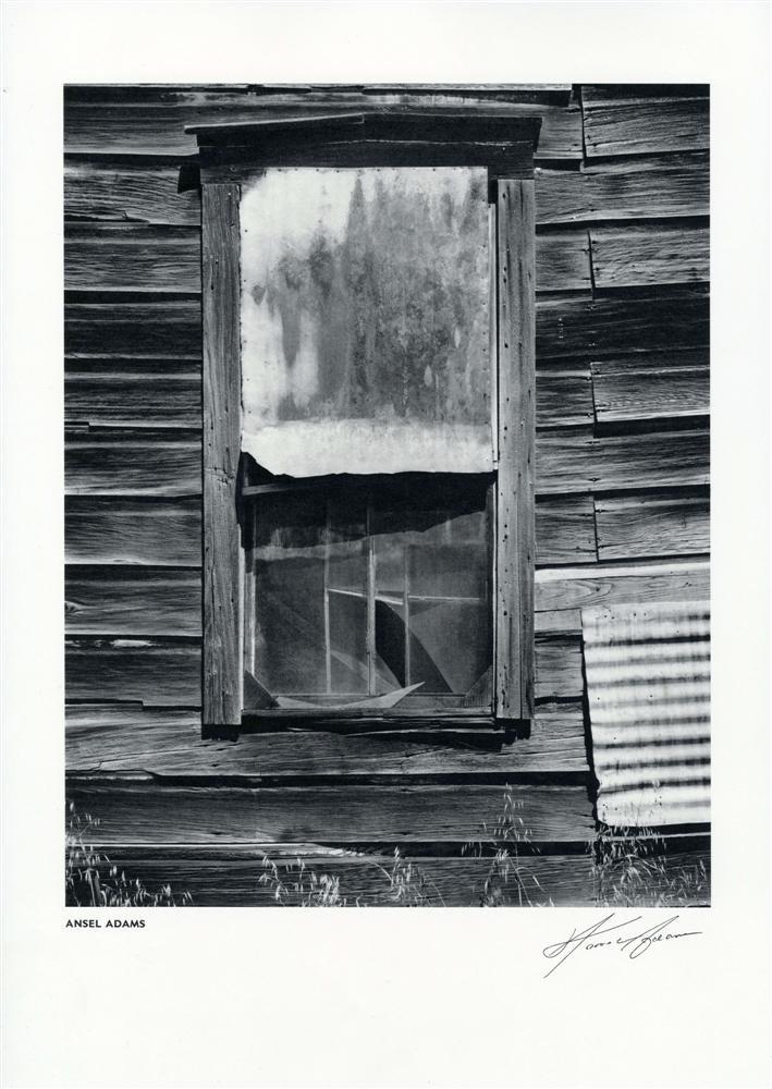 9: ANSEL ADAMS - Vintage photogravure