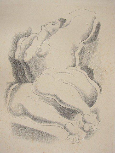 9: ALEXANDER ARCHIPENKO - Original lithograph