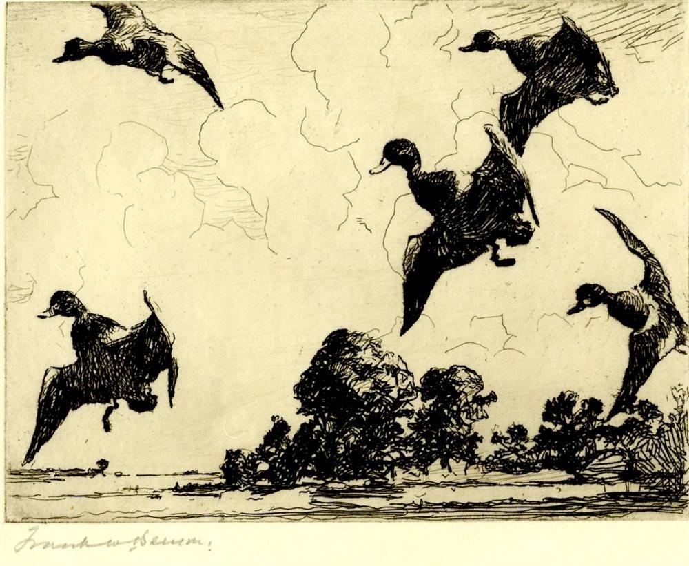 16: FRANK W. BENSON - Etching