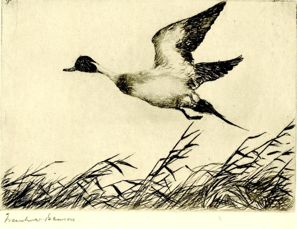 17: FRANK W. BENSON - Etching & drypoint