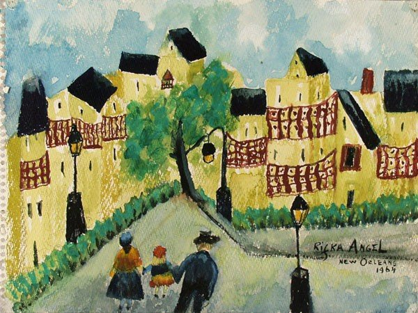 571: RIFKA ANGEL - Watercolor