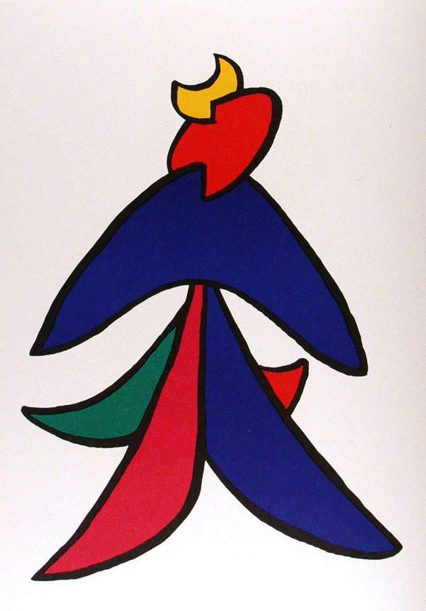 582: ALEXANDER CALDER - Color lithograph
