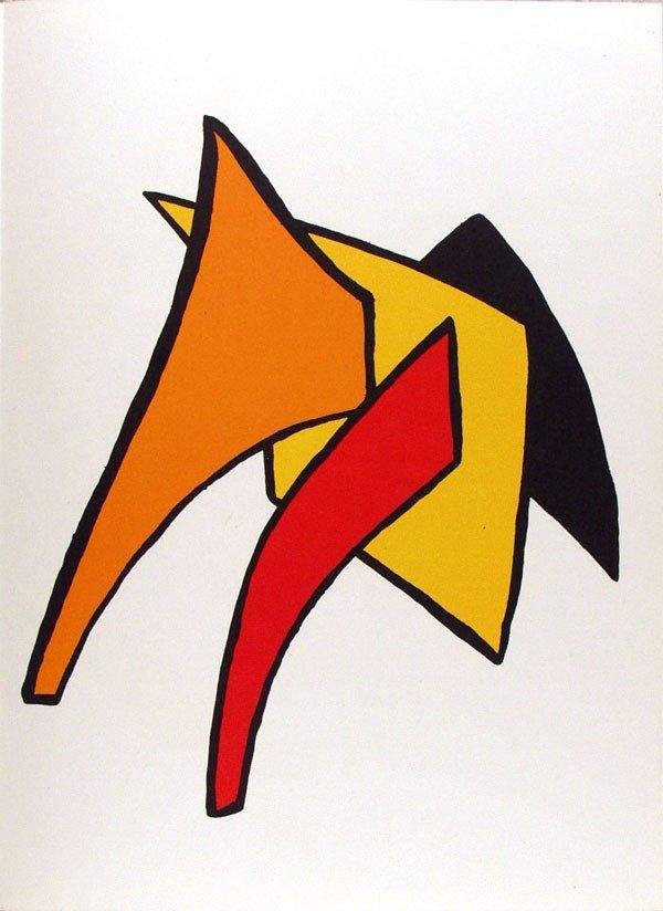 583: ALEXANDER CALDER - Color lithograph